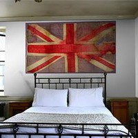 the girl in the brick house: Union Jack Wallpaper