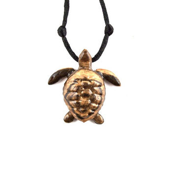 Turtle Necklace, Turtle Pendant, Men Turtle Necklace, Mens Turtle Pendant, Mens Necklace, Men Jewelry, Nautical Jewelry, Turtle Jewelry