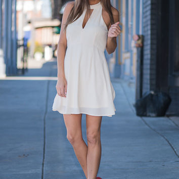 Open To Love Dress, Ivory