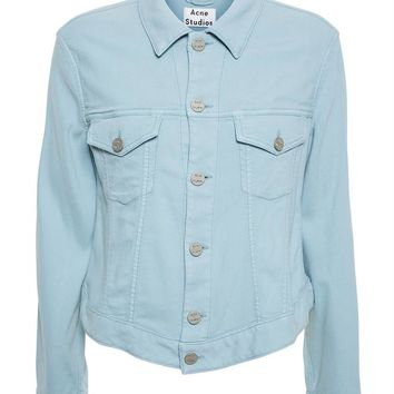 Oversized Denim Jacket - ACNE STUDIOS