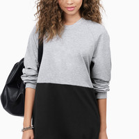 Split Up Oversized Sweatshirt $42