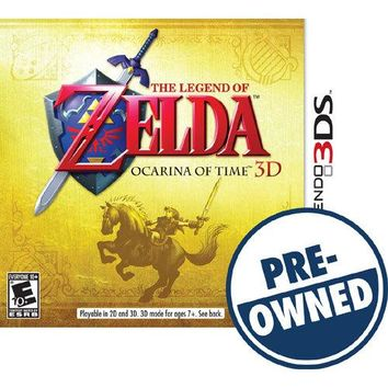 The Legend of Zelda: Ocarina of Time 3D — PRE-OWNED - Nintendo 3DS