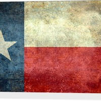 Vintage Texas Flag from the american flag series Stretched Canvases by Bruce Stanfield | Nuvango