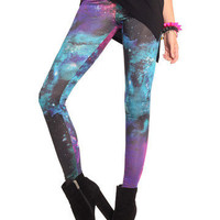 GYPSY WARRIOR - Galaxy Print Leggings
