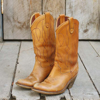 Vintage Twisted Stitch Cowboy Boots, Sweet Country Inspired Vintage Clothing