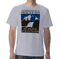 Adirondack Mountain School Painters Tshirt from Zazzle.com
