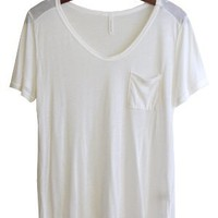 Flimsy Boyfriend Tee, White
