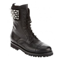 PHILIPP PLEIN Studded biker boot