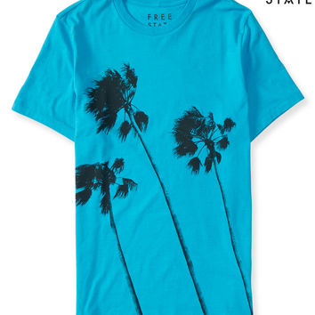 Aeropostale  Free State Palm Trees Graphic T