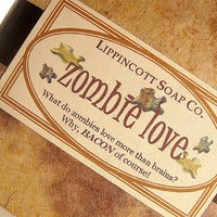Zombie Love Cold Process Soap Halloween by LippincottSoapCo