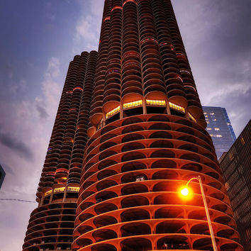 Chicago - Marina City Twilight