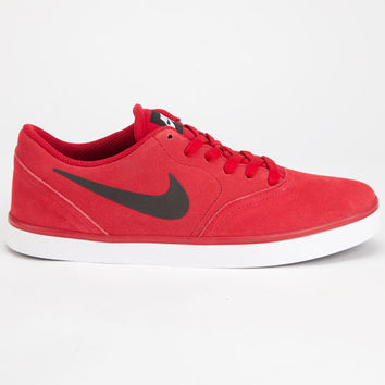 Nike Sb Check Mens Shoes Red  In Sizes