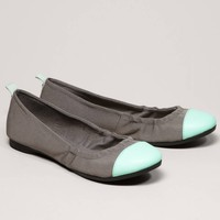 AEO Neon Cap-Toe Ballet Flat | American Eagle Outfitters