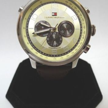 Tommy Hilfiger Tyler 1790767 Chronograph Wrist Watch - Multi-Function - dd