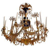 18th Century Russian Twelve-Light Chandelier Attributed to the Firm of Zech