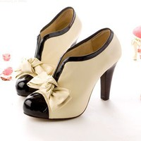 Tacones Lazo Princesa / Princess Heels Bowknot LS016 by Kawaii Clothing