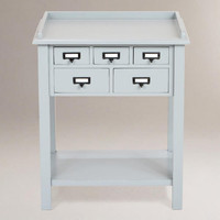 Preston 5-Drawer Table | World Market