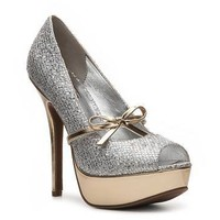 Mix No. 6 Lucy Glitter Pump