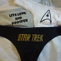 Star Trek Triple Panty Set