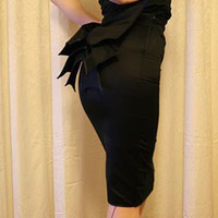 "Pin-UP style ""Batushi"" pencil skirt"