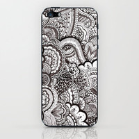 her hair iPhone & iPod Skin by Bianca Green | Society6