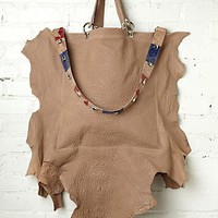 Free People Rafaella Leather Hobo