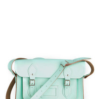Upwardly Mobile Satchel in Mint - 13 Inches | Mod Retro Vintage Bags | ModCloth.com