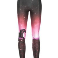 We Are Handsome Horse Print Legging - Diverse - farfetch.com - Item 10102776