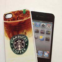 Starbucks Chilled Coffee- iPhone 4 Case, iPhone case, iPhone 4s Case, iPhone 4 Cover, Hard iPhone 4s Case