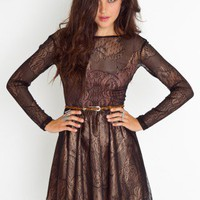 Cilia Lace Dress - NASTY GAL