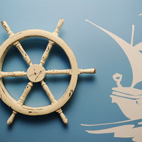 Pirate Ship Wheel by srizzo1975 on Etsy