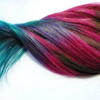 6 Sticks - Hair Chalk Temporary Hair Color - Ombre Hair Dying - Hair Chalking