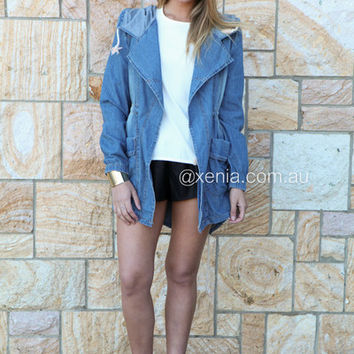 Wrapped In Love Anorak Jacket | Xenia Boutique