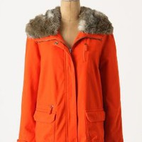 Flounced Pintuck Parka - Anthropologie.com