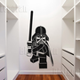 Lego Star Wars Darth Vader inspired Detailed Vinyl Wall Decal