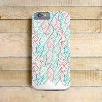 Hidden Leaves - Phone Case for iPhone 4, 5, 5c, 6 Samsung Galaxy S3 & S4