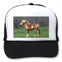 Belgian Draft Horses Trucker Hat