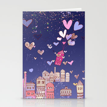 happiness Stationery Cards by Marianna Tankelevich