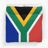 National flag of the Republic of South Africa Authentic version