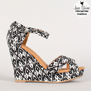 Truth or Dare Wedges | Jane Divine Boutique