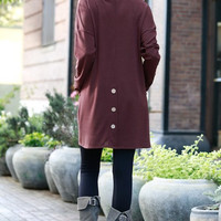 My Favorite Tunic - Burgundy