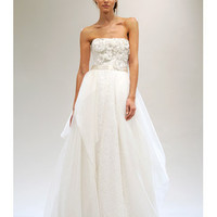 Reem Acra - Spring 2011 : Wedding Dresses Gallery : Brides