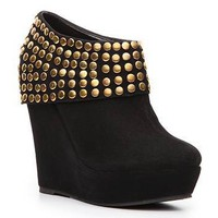 N.Y.L.A. Kareem Wedge Bootie