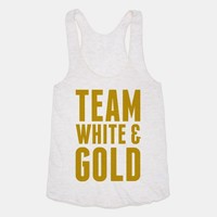 Team White And Gold