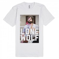 Lone Wolf | Fitted T-shirt | SKREENED