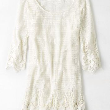 AEO Women's Lace Shift Dress