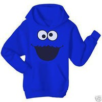 Amazon.com: Sesame Street Adult Cookie Monster Sweatshirt with Hoodies Medium: Everything Else
