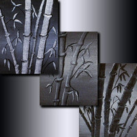 Print Set: 3 Bamboo 5 x 7 Giclees