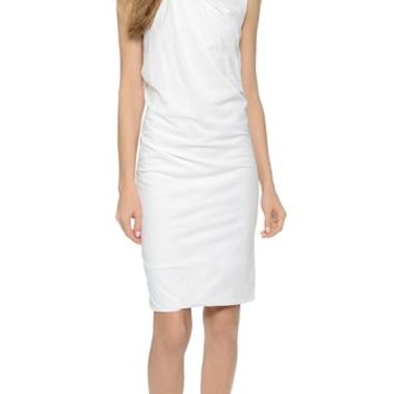 3.1 Phillip Lim Twisted V Neck Dress