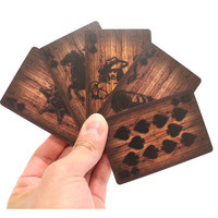 Wood Deck of Card